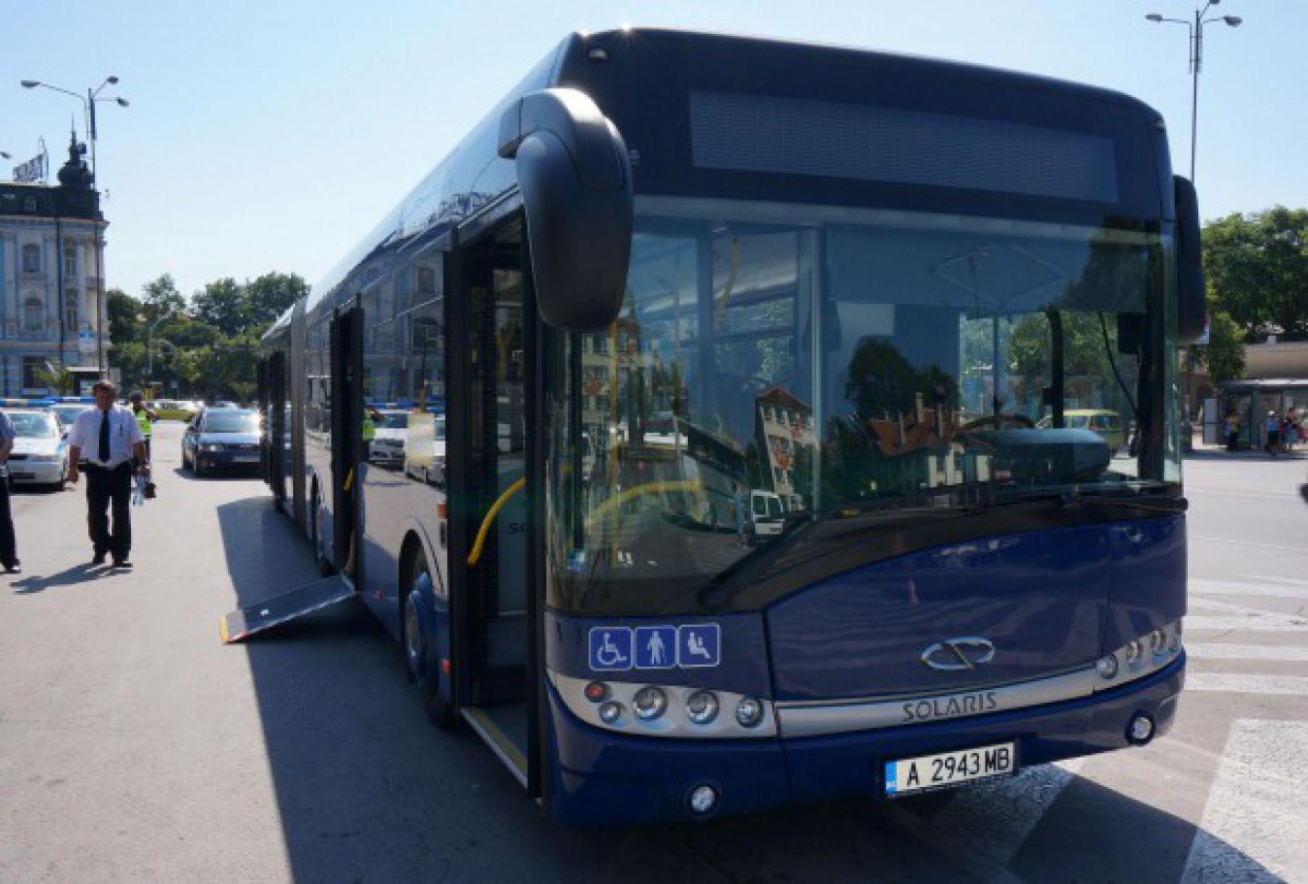 В Варне был представлен новый автобус