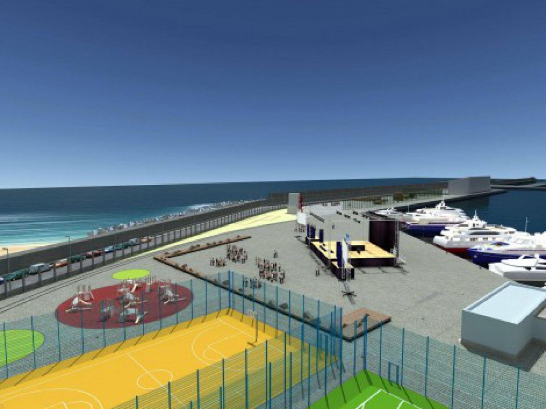 Одобрено откриване на част от пристанище за забавление Варна - Изток