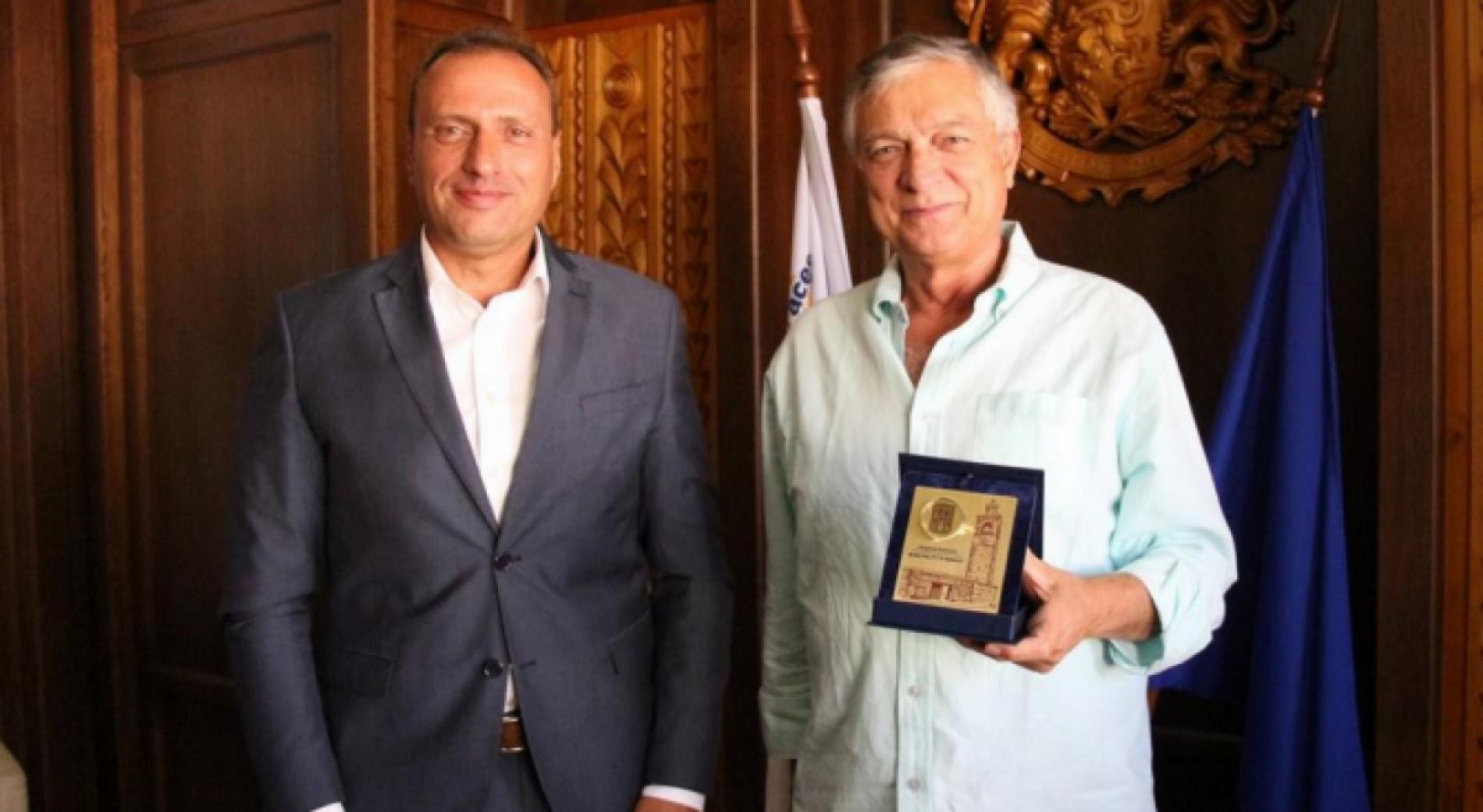 Кметът на Банско посрещна почетен консул на Италия - Антонио Таркинио