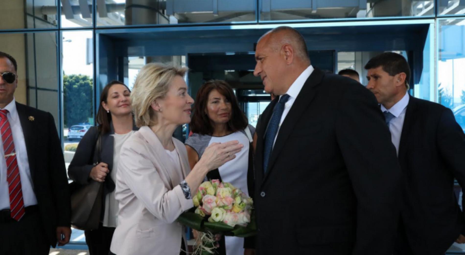 Бойко Борисов се срещна с избрания президент на Европейската комисия Урсула фон дер Лайен